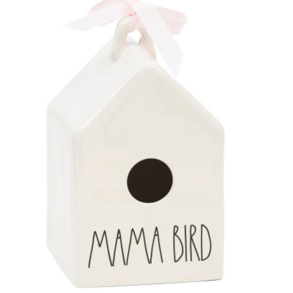 Rae Dunn MAMA BIRD house